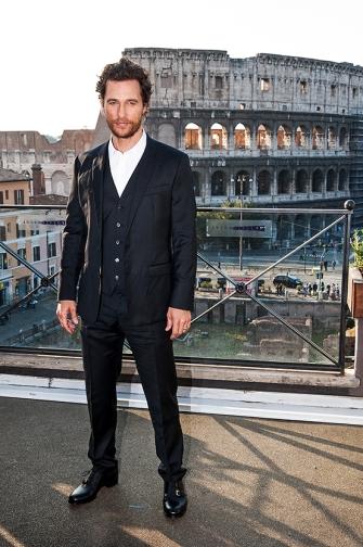Matthew McConaughey a Roma