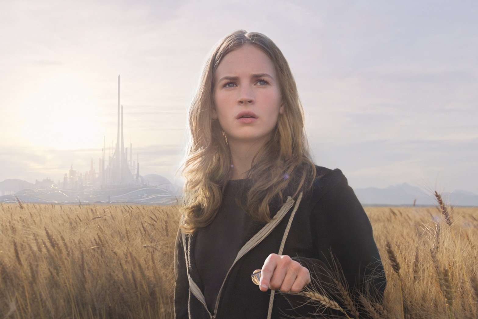 Tomorrowland Disney Pictures Britt Robertson