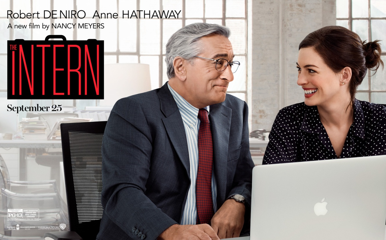 The Intern Anne Hathaway Robert De Niro