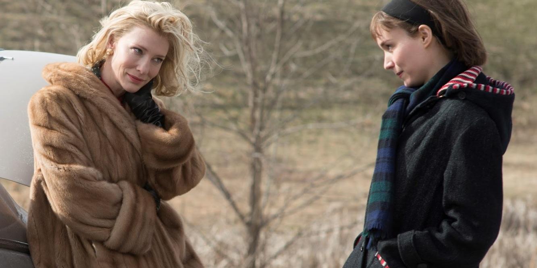 Carol Cate Blanchett and Rooney Mara