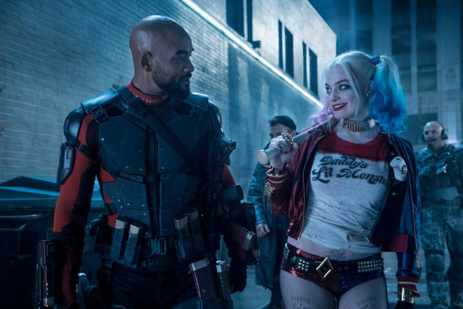Suicide Squad Margot Robbie Will Smith