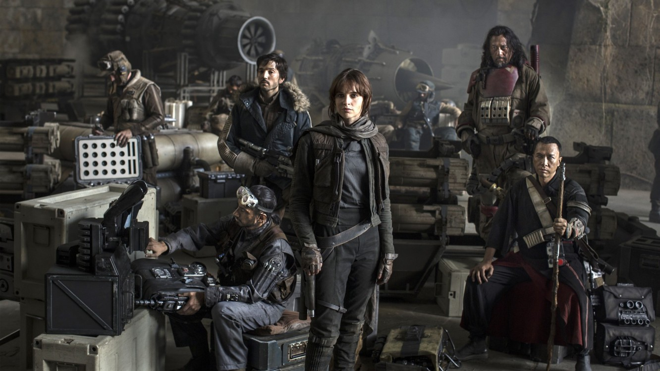 Rogue One A Star Wars Story cast