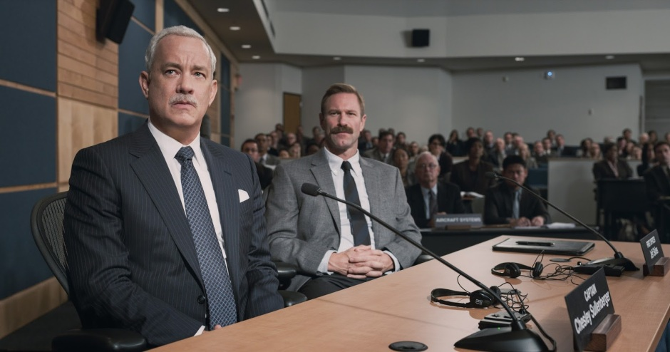 sully tom hanks aaron eckhart
