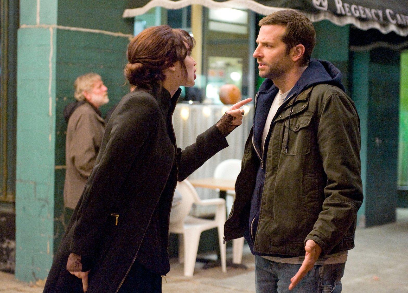 Jennifer Lawrence Bradley Cooper Il lato positivo