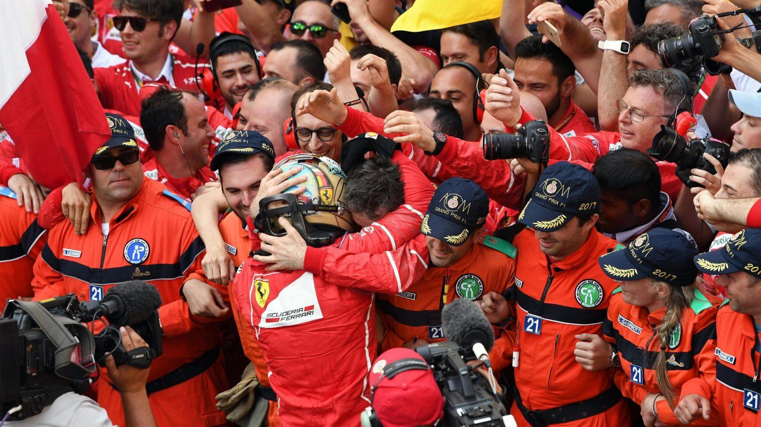 GP Monaco 2017 Vettel Ferrari
