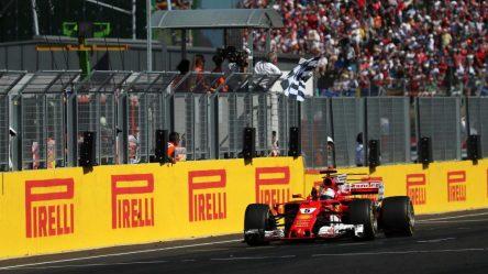 Vettel Ferrari Ungheria