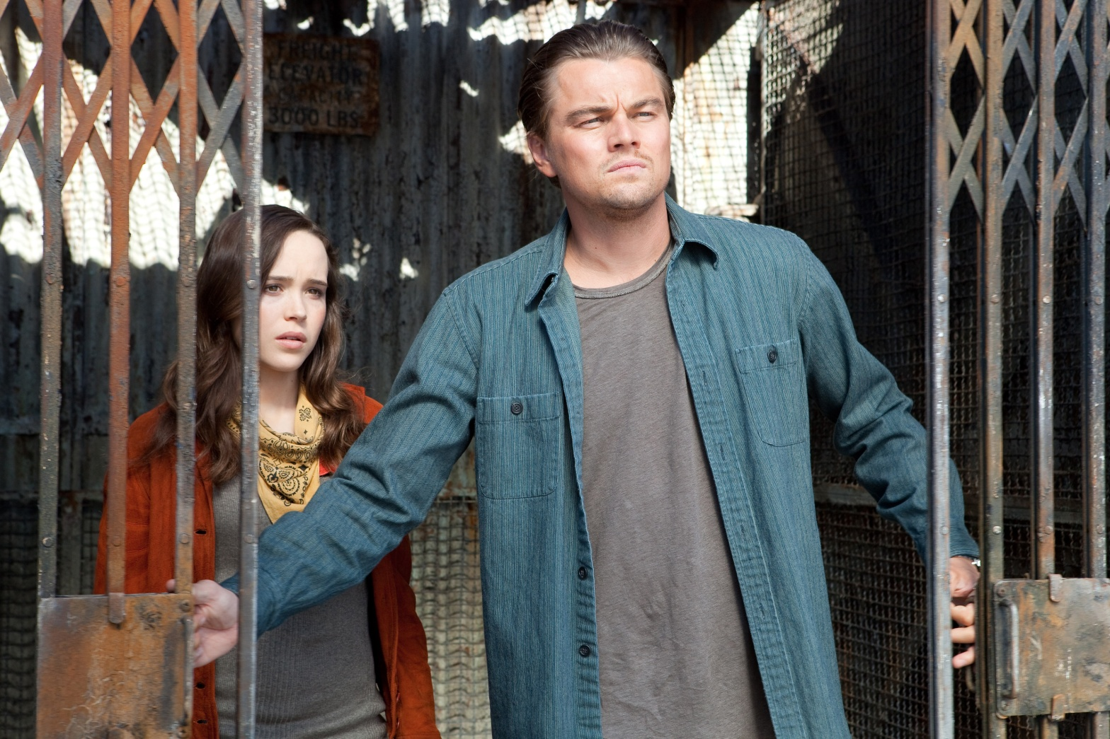 Inception Ellen Page Leonardo DiCaprio
